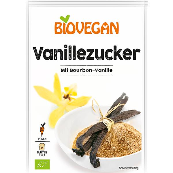 BIOVEGAN Zucker Vanille, BIO
