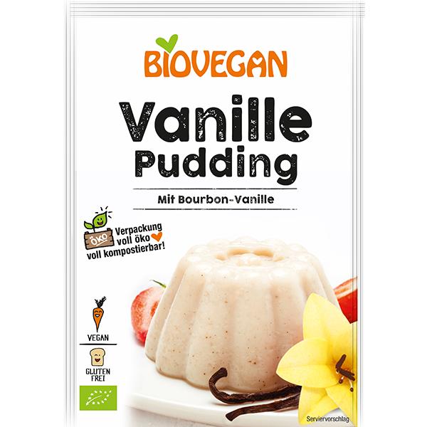 BIOVEGAN Pudding Vanille, BIO