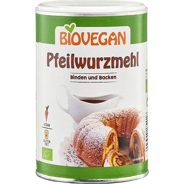 BIOVEGAN Pfeilwurzmehl, BindeFIX, BIO
