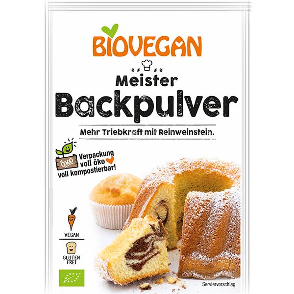 BIOVEGAN Meister Backpulver, BIO