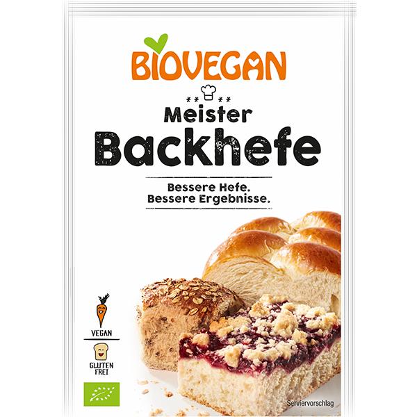 BIOVEGAN Meister Backhefe, BIO