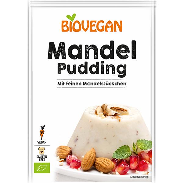 BIOVEGAN Mandel Pudding, BIO