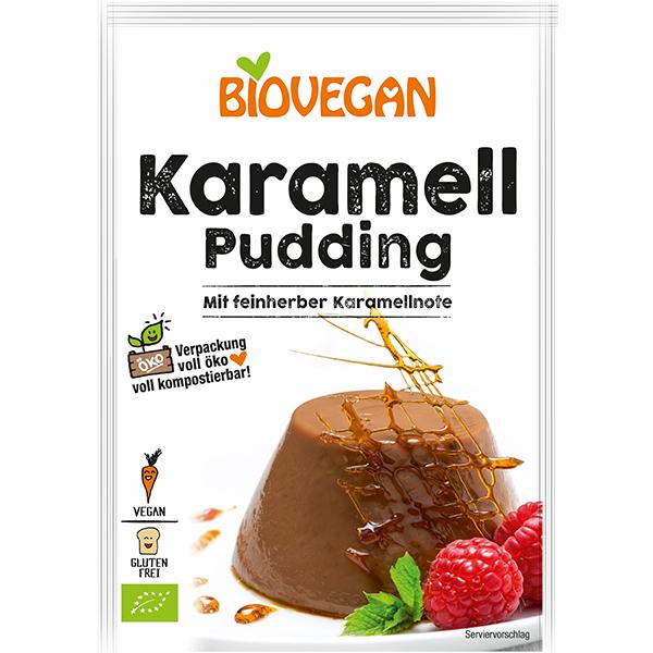 BIOVEGAN Karamell Pudding, BIO