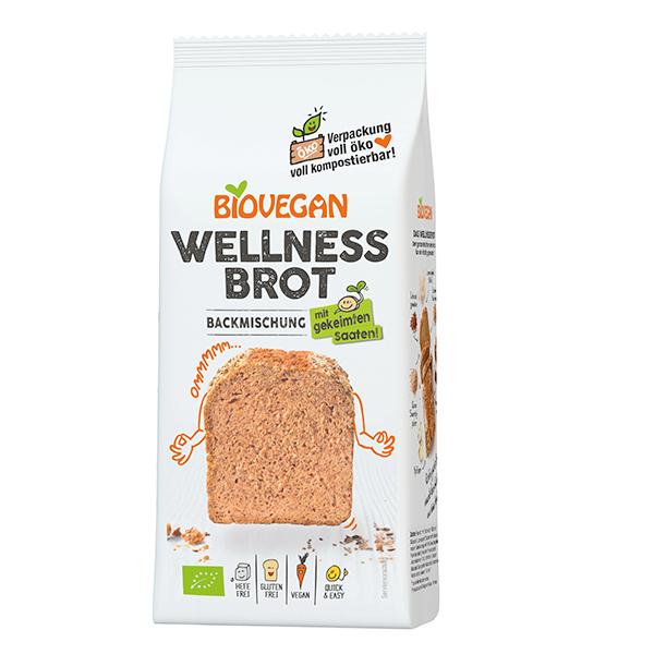 BIOVEGAN Brotbackmischung Wellness, BIO